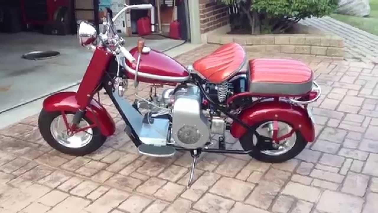1958 Cushman Eagle 765 Youtube