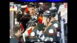 Ryan Kesler knocked out by max domi