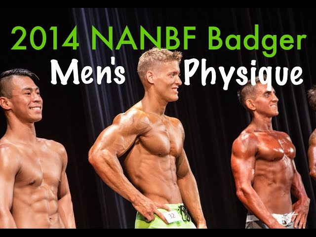 2014 NANBF Natural Badger Classic Mens Physique Championship