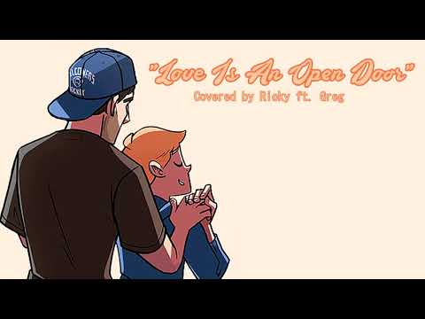 "【RICKY】""Love Is An Open Door"" / Male Frozen Cover / Ft. Greg"