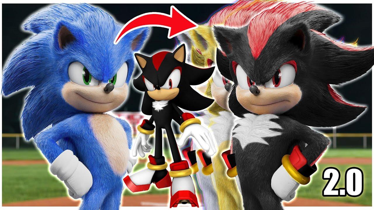 [Speed Edit] Shadow the Hedgehog v.2.0 - Sonic the Movie
