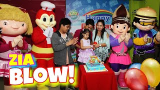 Zia Kaetrielle's 3rd Birthday Party (Blowing of the Cake)