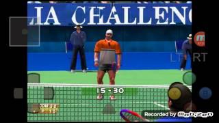 Android DC Emulator ReiCast Virtua Tennis Game Play - 안드로이드 레이캐스트 버추어 테니스 게임 플레이