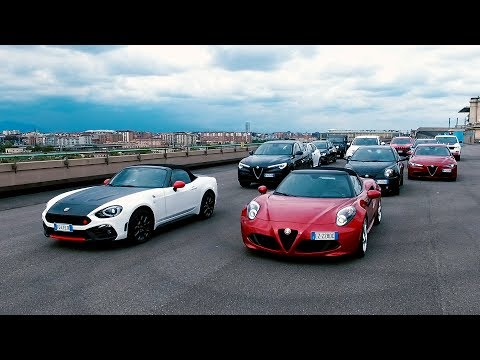 The Fiat Chrysler Automobiles range of automatic cars - Fiat, Abarth, Alfa Romeo & Jeep