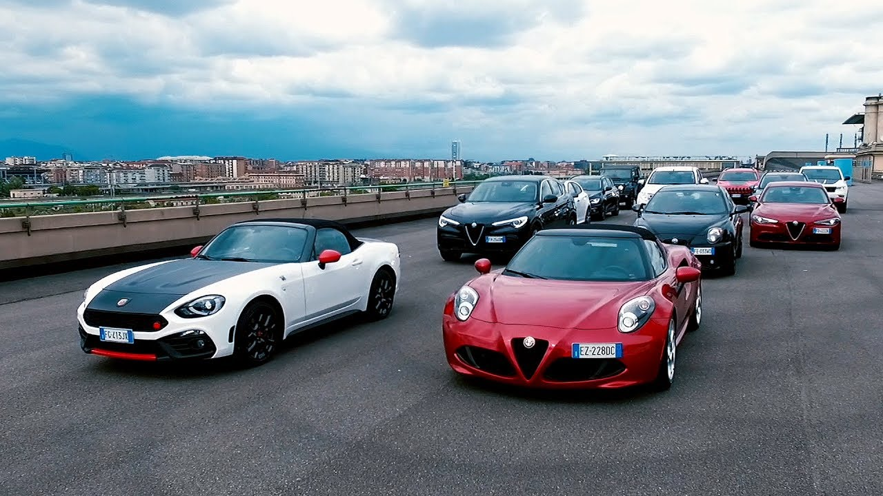 The Fiat Chrysler Automobiles Range Of Automatic Cars Fiat Abarth