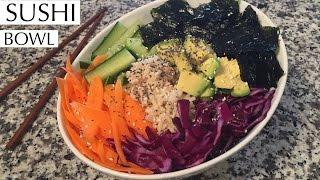 Healthy & Delicious Sushi Bowl Recipe