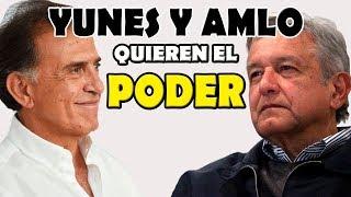 AMLO humilló a Yunes Linares en su propia casa