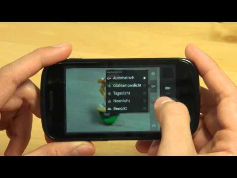 Samsung I9023 Google Nexus S Test Kamera