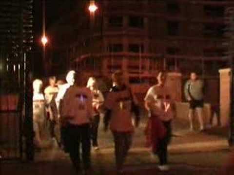Midnight Walk 2007 - Hartlepool Hospice (ITV Local)