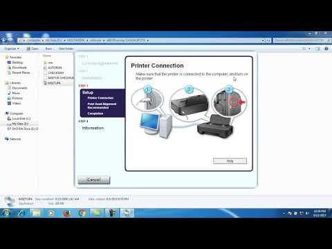 carainstallprintertanpacddriver #caramudahinstalprinter Easy way to install a canon ip2770 printer w.