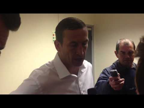Justin Edinburgh after Wrexham