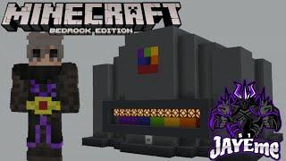 Minecraft Bedrock Edition: How To Build Mumbo Jumbo The Button From Hermitcraft Season 7