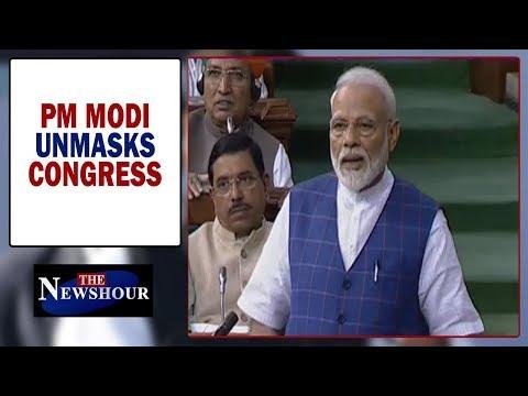 Has PM Narendra Modi exposed Congress 'gutter' mindset? | The Newshour Debate (25 Jun)