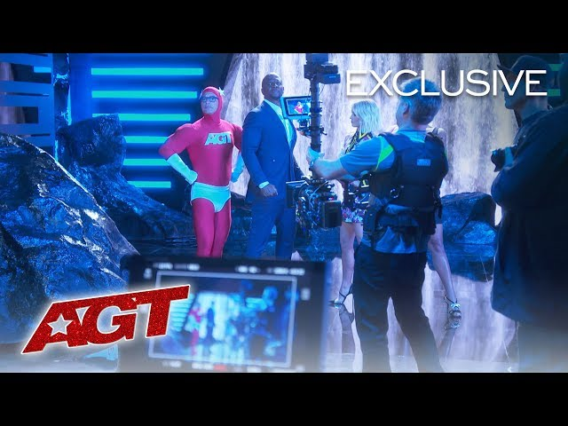 A Behind The Scenes Look At The AGT Trailer - America's Got Talent 2019