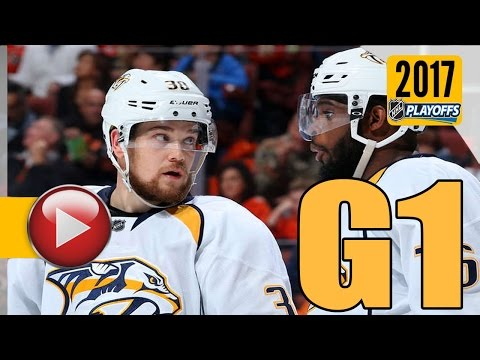 Nashville Predators vs Anaheim Ducks. NHL 2017 Playoffs. Western Conference Final. Game 1. (HD)