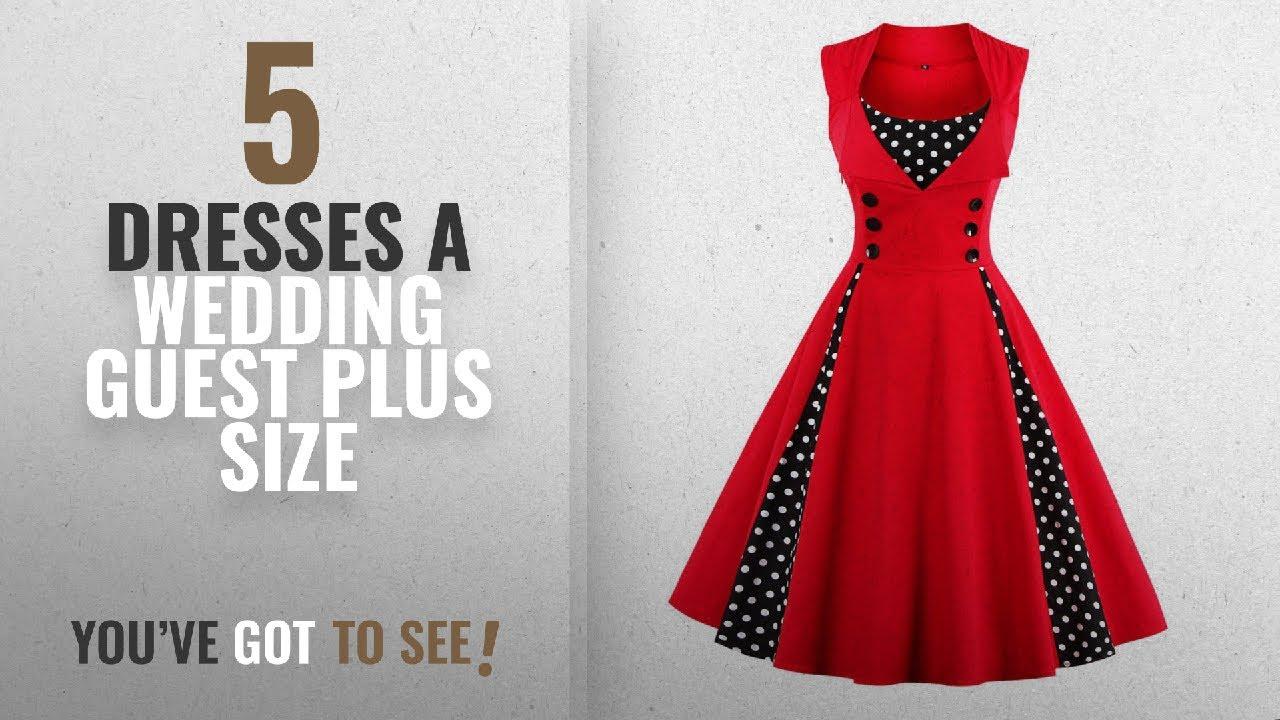 2ad82d6e32 Top 10 Dresses A Wedding Guest Plus Size [2018]: VERNASSA Women's 50s Retro  Fancy Dresses,1950s