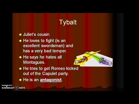 Shakespeares Romeo and Juliet -- Characters, Introduction