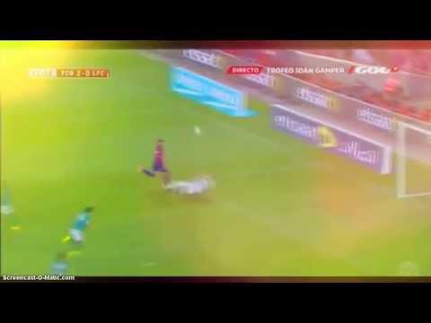 Barcelona 6 Vs Leon 0 Todos los Goles HD 2014