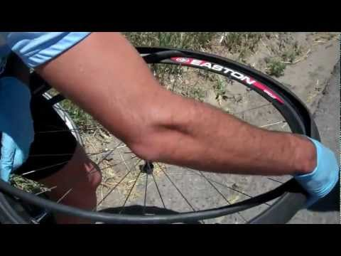 How To Fix A Flat Tire While On A Bike Ride. Denver Century Ride.mp4