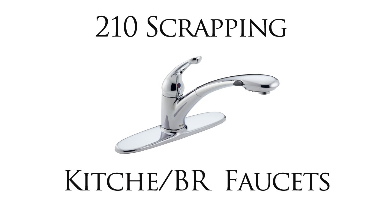how to scrap a bathroom and kitchen faucet for brass and copper how to scrap a bathroom and kitchen faucet for brass and copper