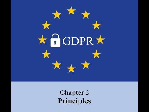 GDPR - Chapter 2 - Article 6 - Processing Lawfulness