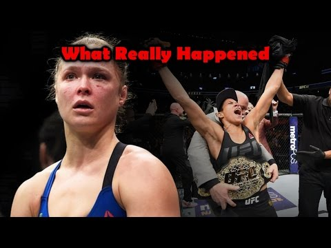 What Really Happened at UFC 207 (Amanda Nunes vs Ronda Rousey)