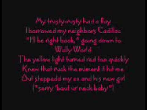 It Happens - Sugarland (lyrics)