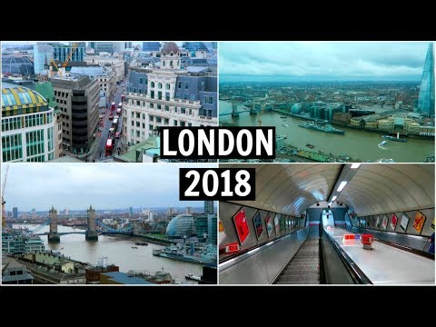 A Day in London 2018 - the sky garden, greenwich, +more