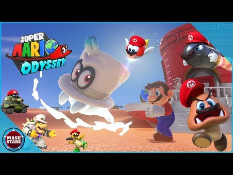 Super Mario Odyssey // BEATING THE GAME // Nintendo Switch