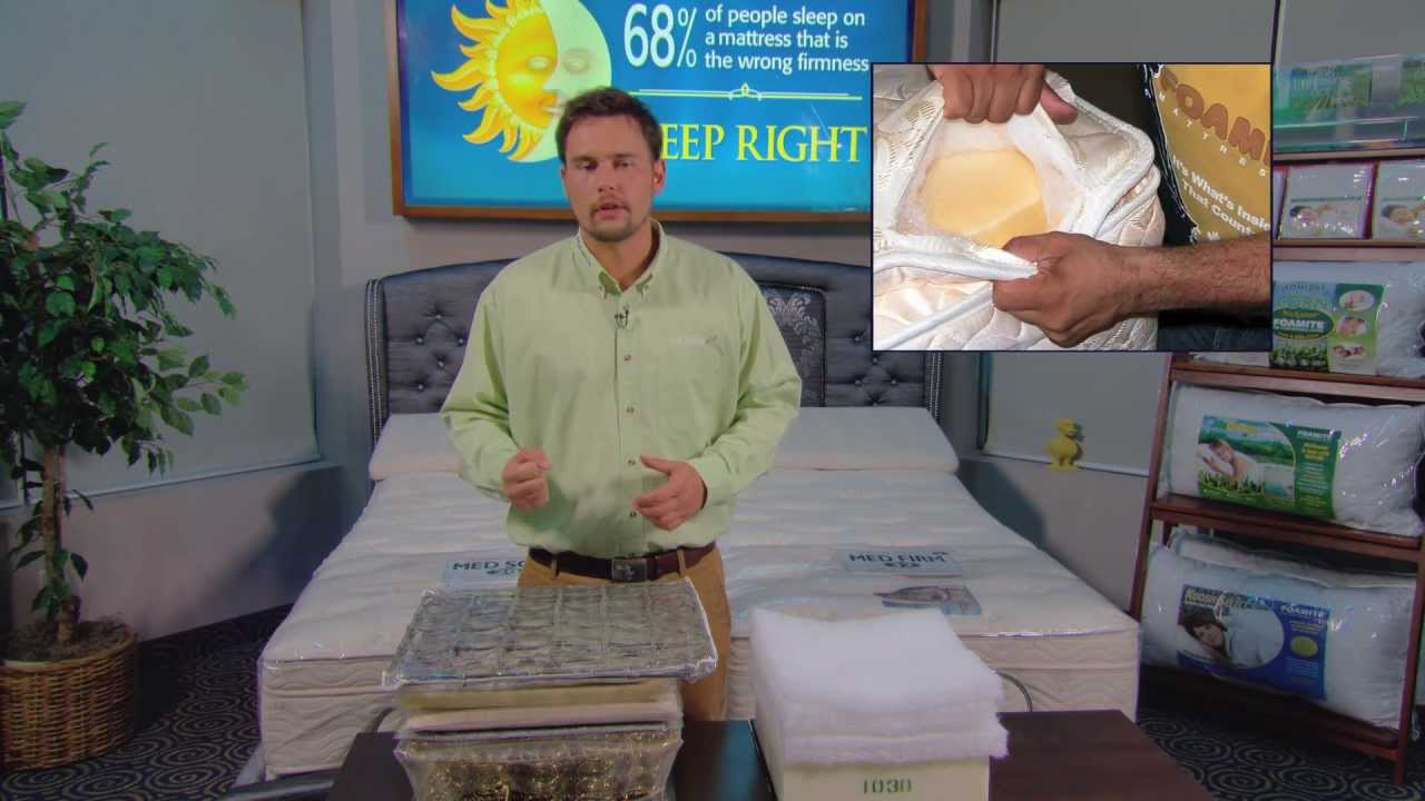 Spring Pillow Top Mattress Construction Fake Comfort That Does Not Last Full Video