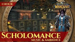 Vanilla Scholomance - Music & Ambience (1 hour, 4K, World of Warcraft Classic)
