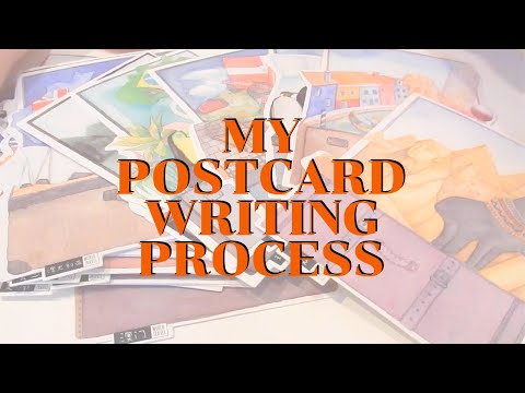 how-i-write-&-decorate-my-postcrossing-postcards!