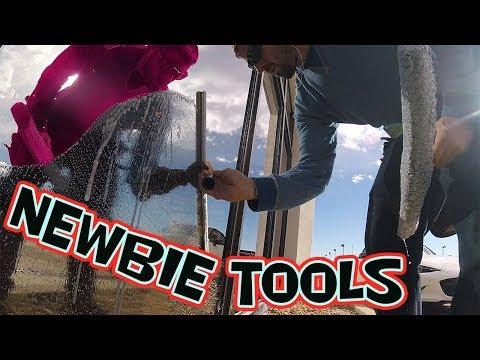 TOP NEWBIE WINDOW CLEANING TOOLS