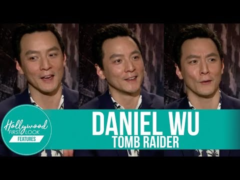 DANIEL WU shares Behindthe s TOMB RAIDER and INTO THE BADLANDS 2018