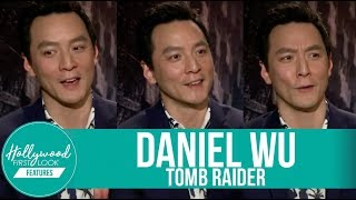 DANIEL WU shares Behind-the Scenes TOMB RAIDER and INTO THE BADLANDS (2018)