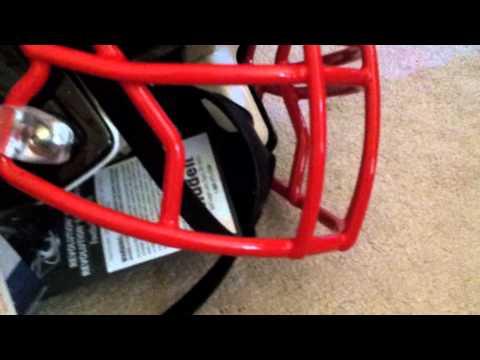how to put together gray nichols helmet