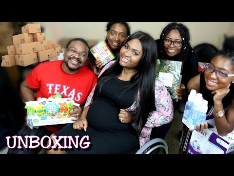 Pregnancy Chat & Baby Packages/Gift Unboxing LIVE w/ Leboo | TheDIYLady