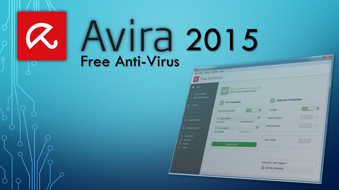 Avira Free Anti-Virus 2015 Review
