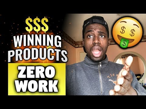 INSANE!! Find Winning Products With Zero Work and No Softwares Dropshipping! thumbnail