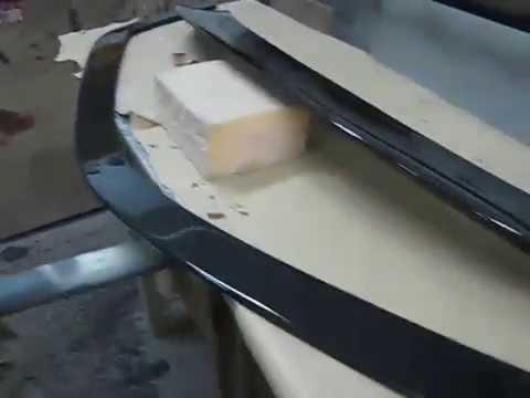 Карбоновый спойлер,губа переднего бампера Mercedes-Benz