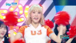 【TVPP】 WJSN – Happy, 우주소녀 – 해피 @Comeback Stage, Show Music Core