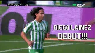 El DIA DEL DEBUT: DIEGO LAINEZ VS GIRONA   HD 720p   LA LIGA   19/01/19
