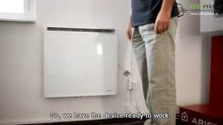Electric heating radiators - PLANO by Radialight