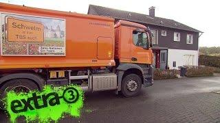 Realer Irrsinn: Müllwagen mit Rückwärts-Fahrverbot