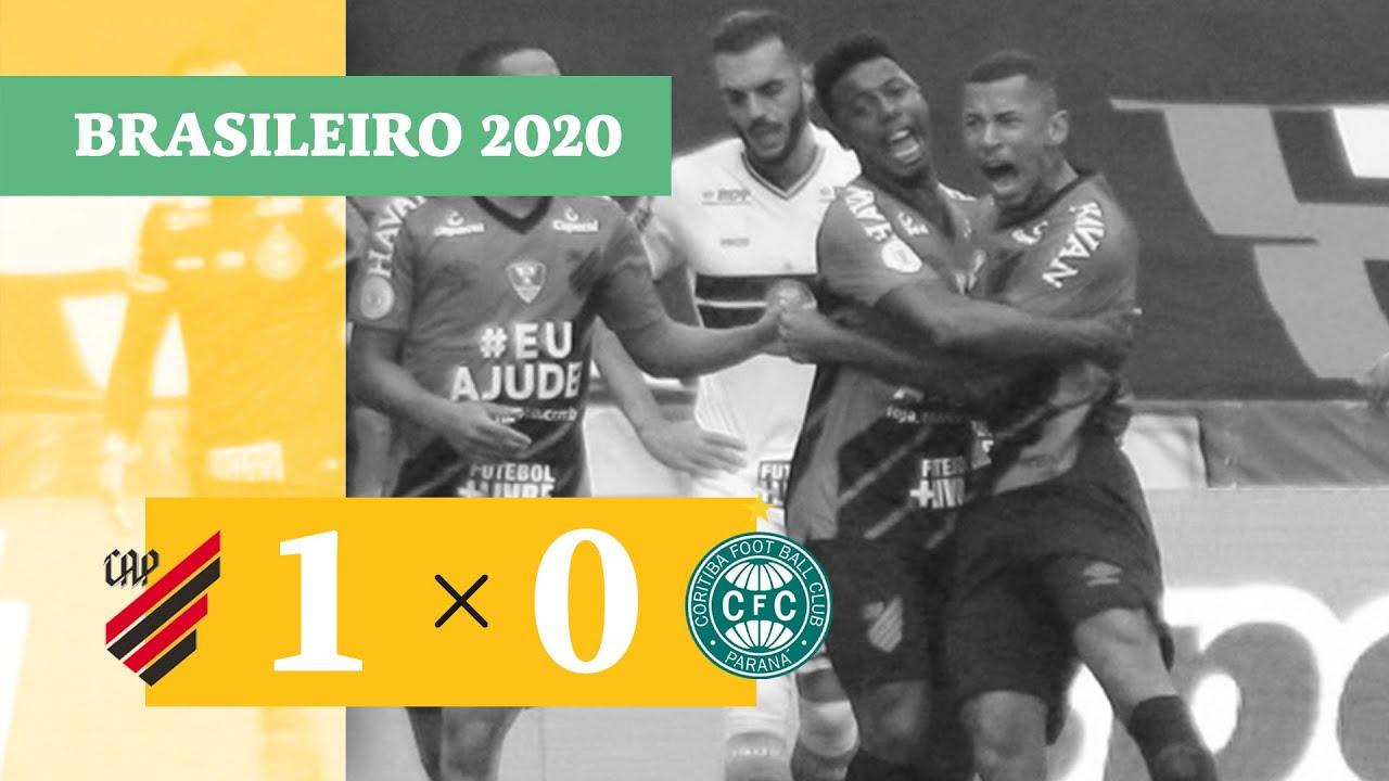 Атлетико Паранаэнсе  1-0  Коритиба видео