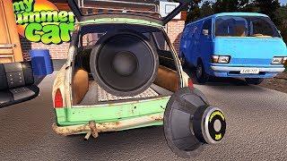 COLOQUEI UM SUBWOOFER GIGANTE NO MEU CARRO! My Summer Car