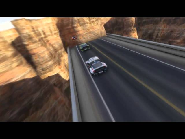 TrackMania 2 Canyon Announcement Trailer
