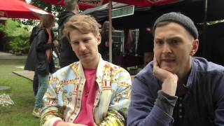 Glass Animals interview - Dave and Joe (part 1)