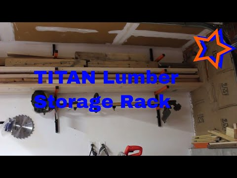 titan-wall-mounted-lumber-storage-rack-/-review-wood-storage-rack