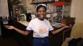 We Gave This 22-Year-Old Vegan Restaurant Owner a Big Surprise — and She Had the Sweetest Reactio…